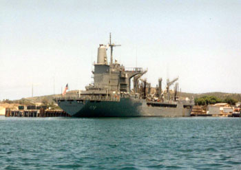 Navy Ship USS Monogahela
