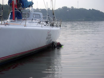 Mooring Job in the Severn River