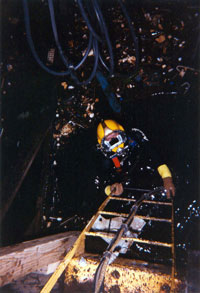 Underwater Welding in the Delaware River - Dive Services, Bottom Cleaning in Annapolis and Kent Island MD, Divers in Annapolis and 0Kent Island MD